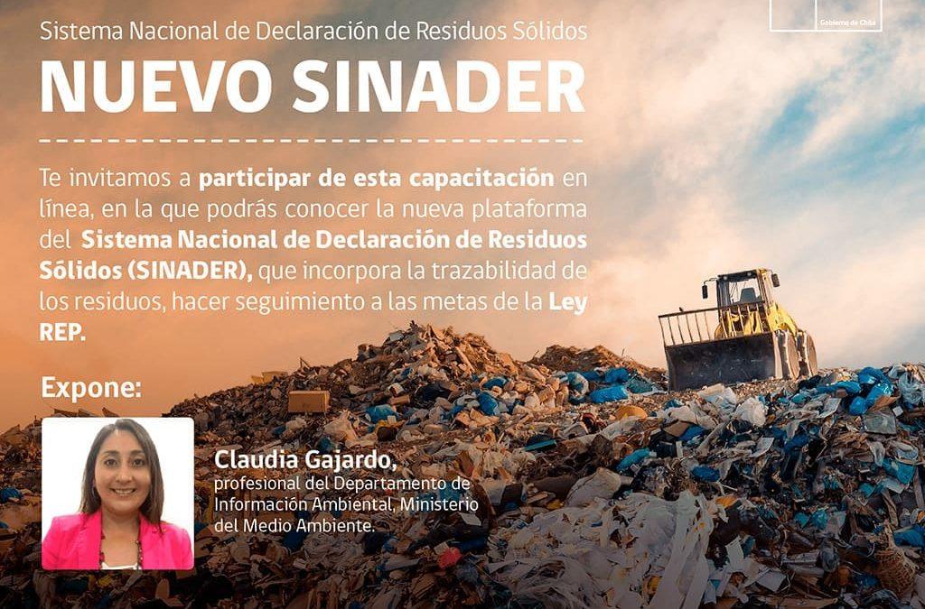 Sistema Nacional de Declaración de Residuos (SINADER)